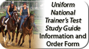 Uniform National Trainer's Test Study Guide